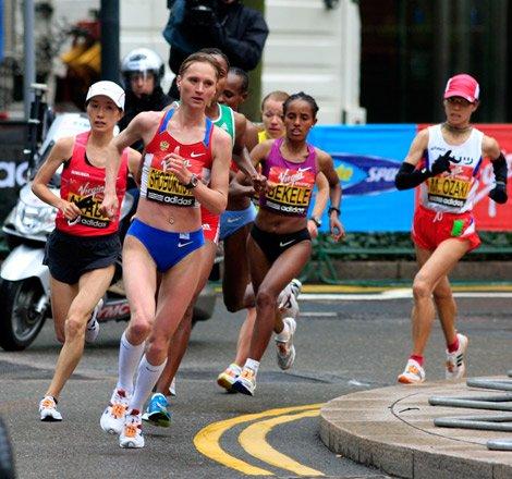 kebede maraton de londres