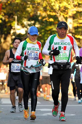 hermanas maraton de nueva york
