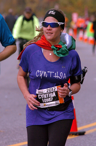 Cynthia Dickter maratonista doctora