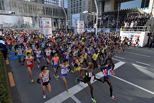 Maraton de Tokio 2013