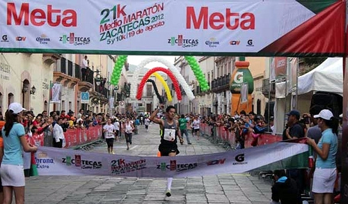 medio maraton de zacatecas 2013