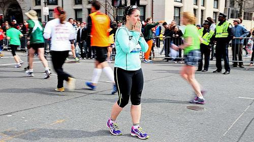 corredores maraton de boston 2013