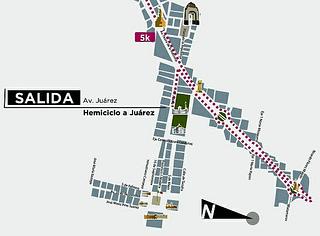 nueva salida maraton ciudad de méxico 2013