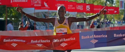 Resultados Maratón de Chicago 2013