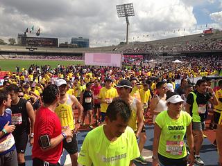 Medio Maraton de la Ciudad de México 2014