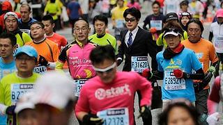 maraton tokio 2014 resultados