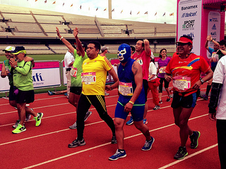 fundaciones para correr el maraton de la ciudad de mexico 2014