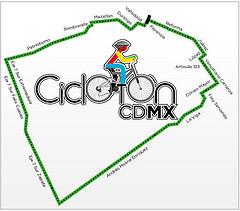 ruta cicloton ciudad de mexico