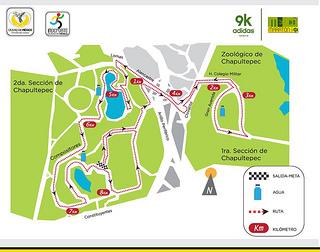 ruta split adidas 9k mexico df maraton