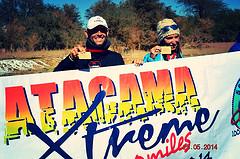 Nahila Hernández en Atacama Xtreme