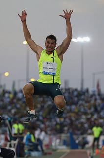luis rivera oro en el iberoamericano de atletismo