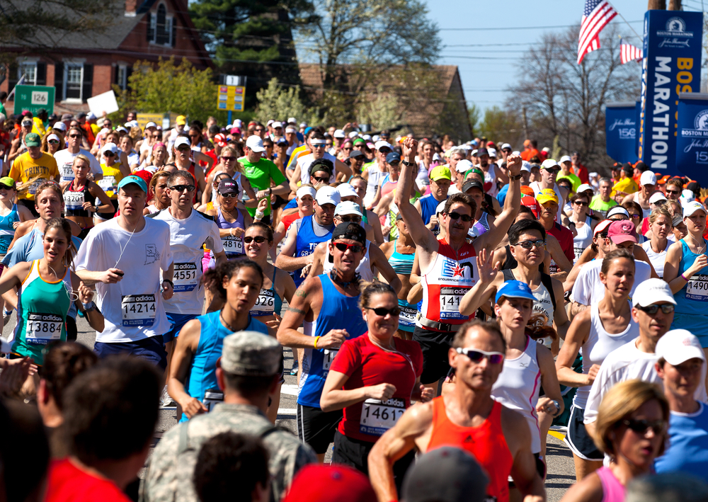 tiempos marca calificacion maraton boston