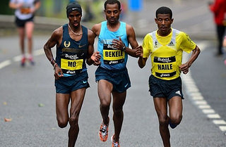 kenenisa bekele en el maraton de chicago 2014