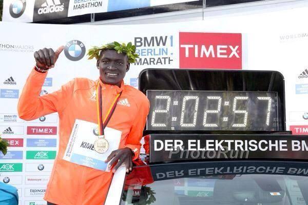 record del mundo maraton de berlin