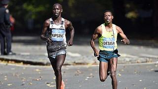 kipsang maraton de nueva york resultados tiempos