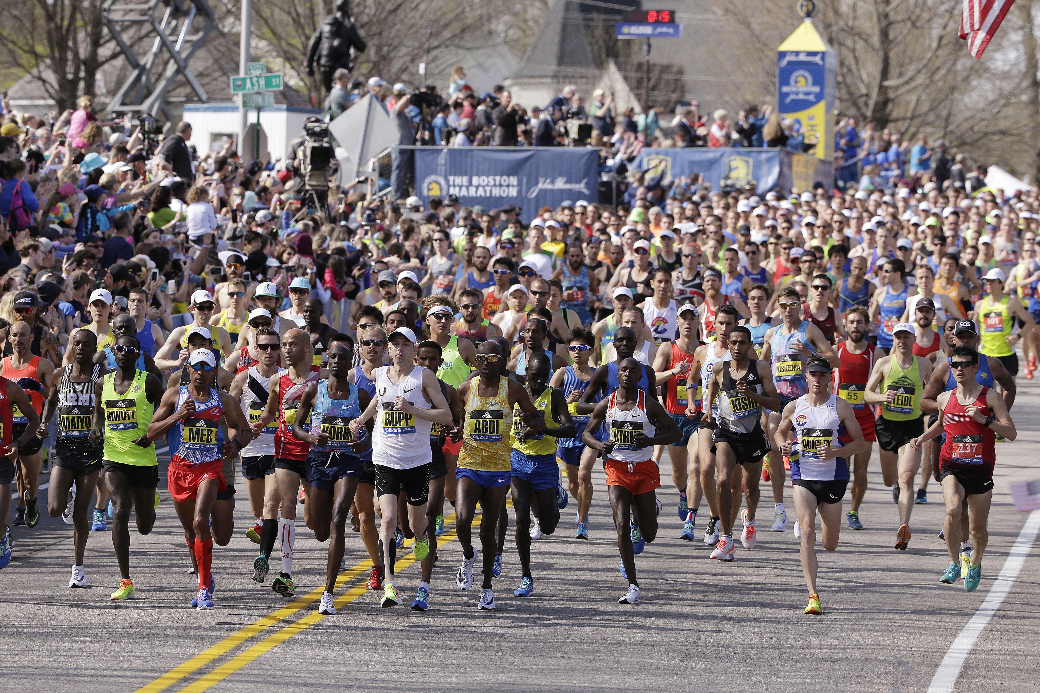 maraton boston tiempos calificacion entrenamiento