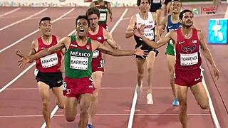 juan luis barrios medalla oro 5000 metros toronto 2015 juegos panamericanos