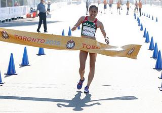 marchista medalla oro juegos panamericanos toronto 2015