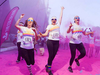 color run guadalajara 5K 2015