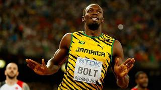 usain bolt 200 metros video mundial atletismo beijing 2015