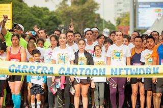 carrera cartoon network 2015 resultados fotos