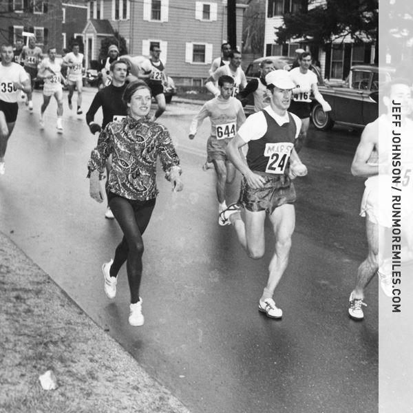 roberta bobbi gib primera mujer en correr boston