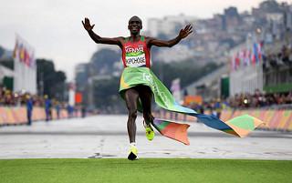 kipchoge maraton olimpico medallas tiempos atletas