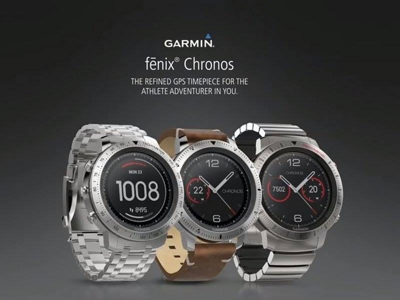 garmin fenix crhonos running gps smart watch reloj