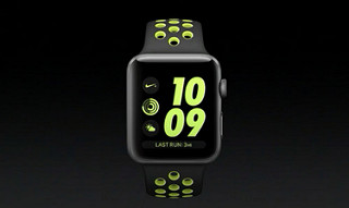 apple watch 2 nike plus running swiming