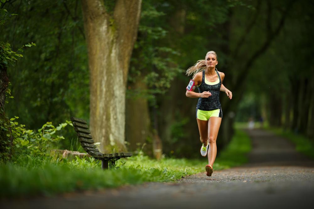 corredora runner bajar peso