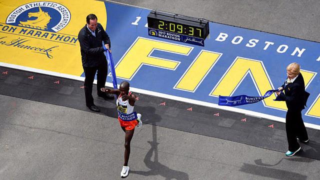 Kirui y Kiplagat ganan el Maratón de Boston 2017 corredores mexicanos