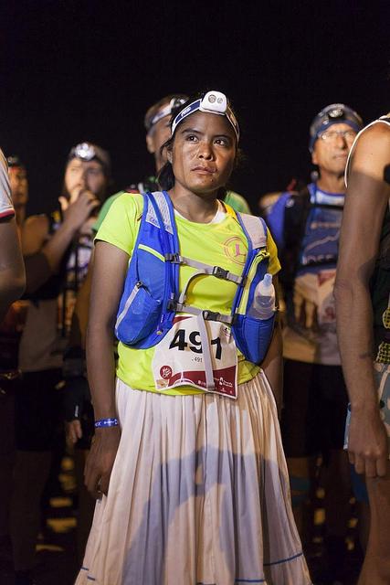 corredora raramuri ultramaraton tenerife españa