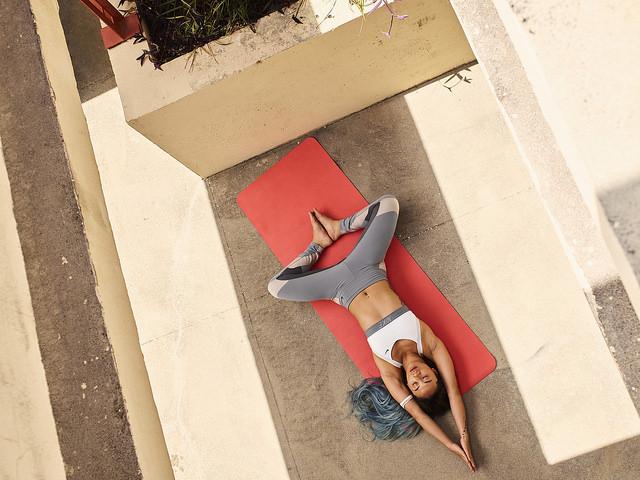yoga corredores nike training club fitness app