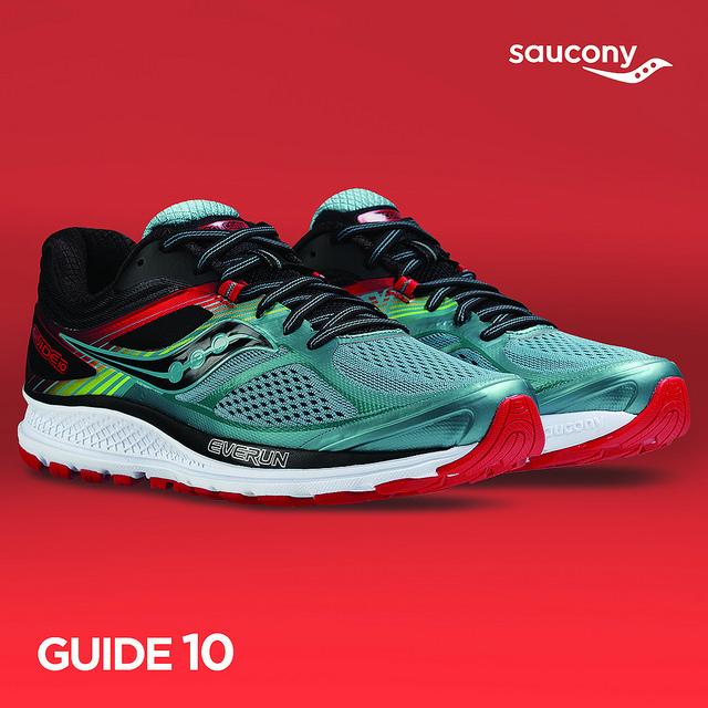 saucony guide 10 tenis pronador