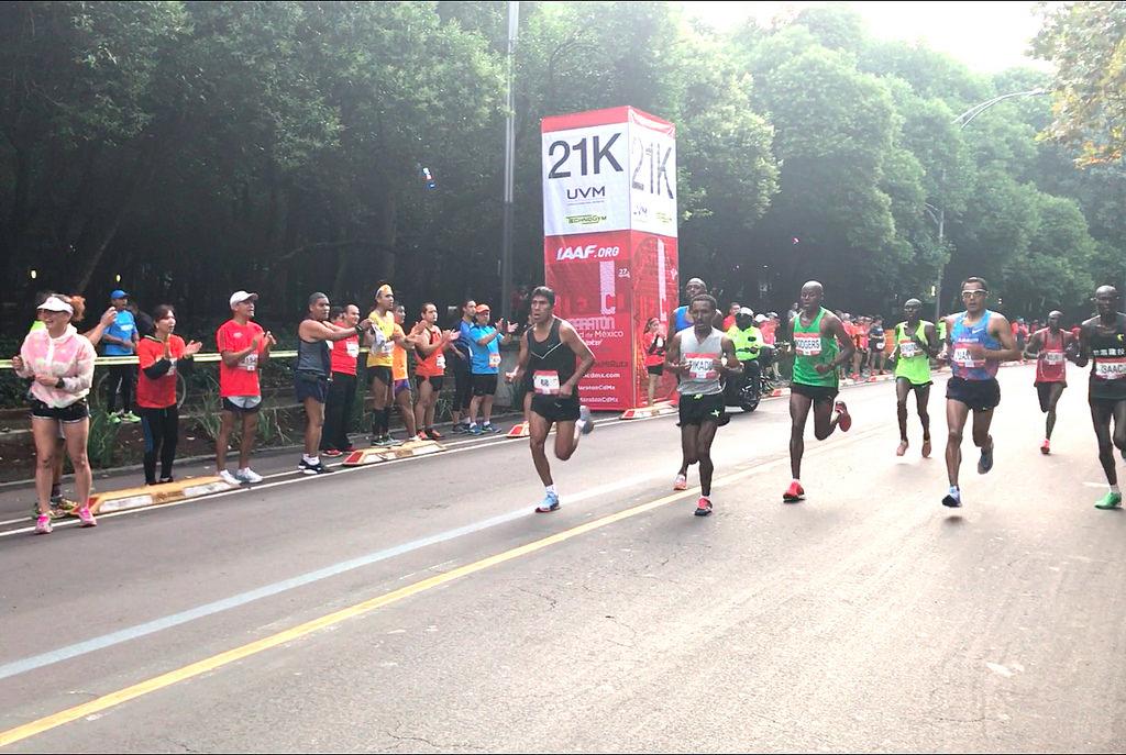 tramposos maraton ciudad de mexico