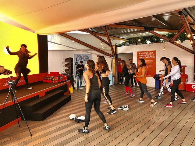 gatorade amplify spotify musica fitness correr running yoga