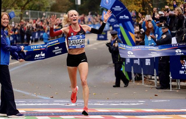 shalane flanagan maraton de nueva york 2017 new york marathon