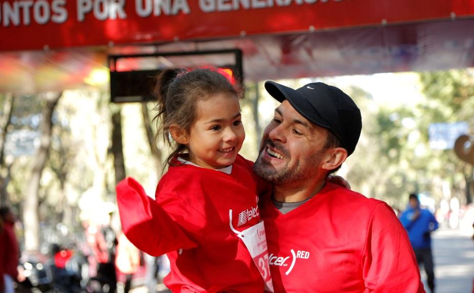 Carrera Telcel Red 2017 ciudad de mexico
