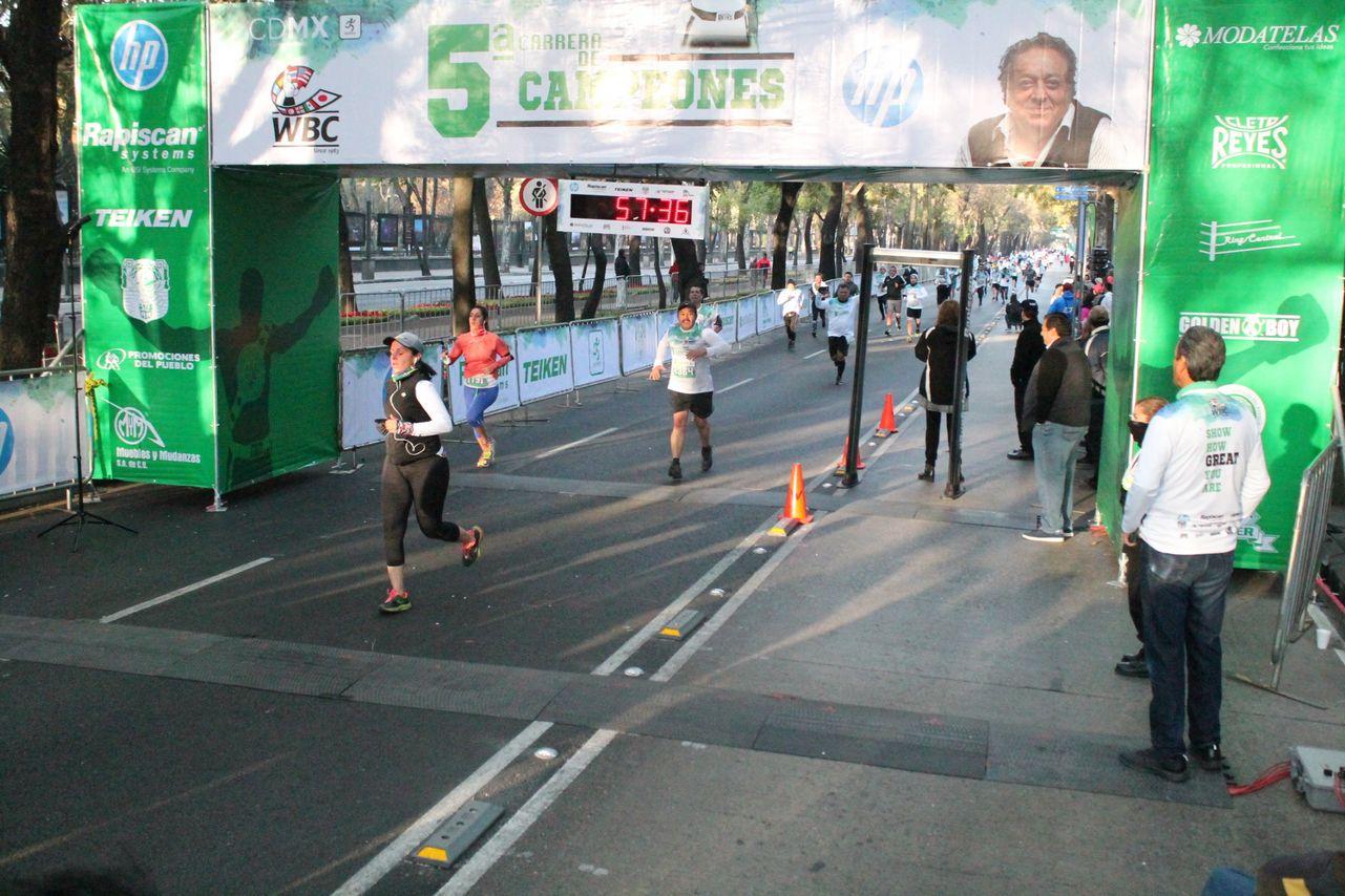 carrera wbc 2018 resultados tiempos emocion deportiva