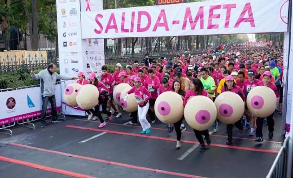 carrera fucam cancer de mama ciudad de mexico