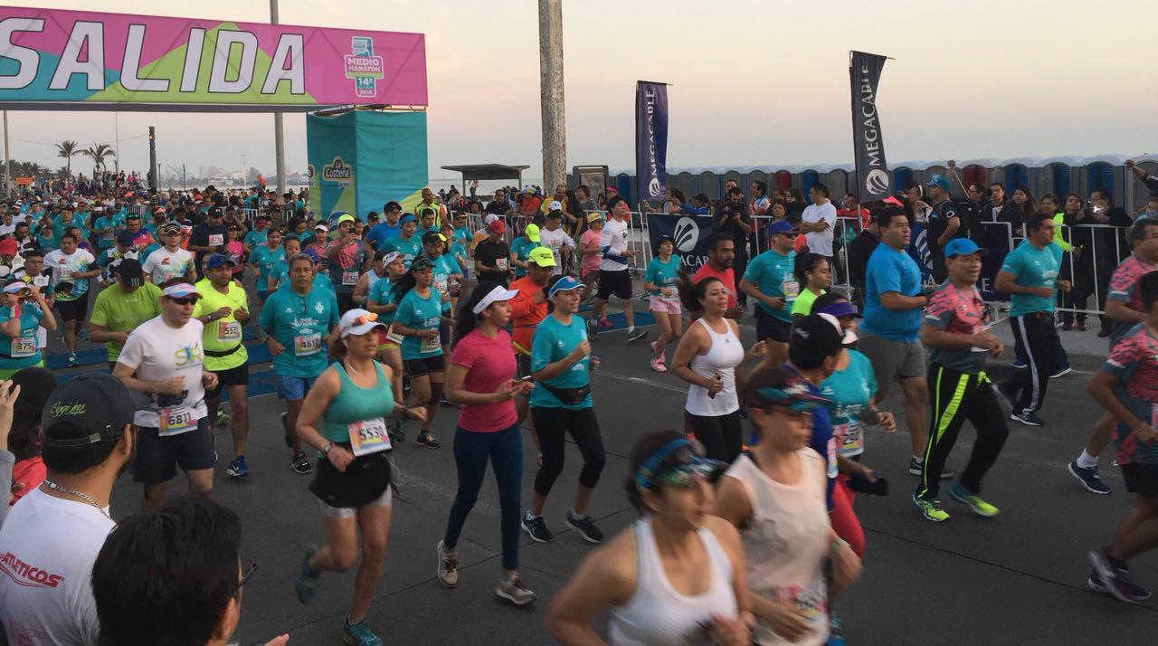 resultados medio maraton veracruz 2018