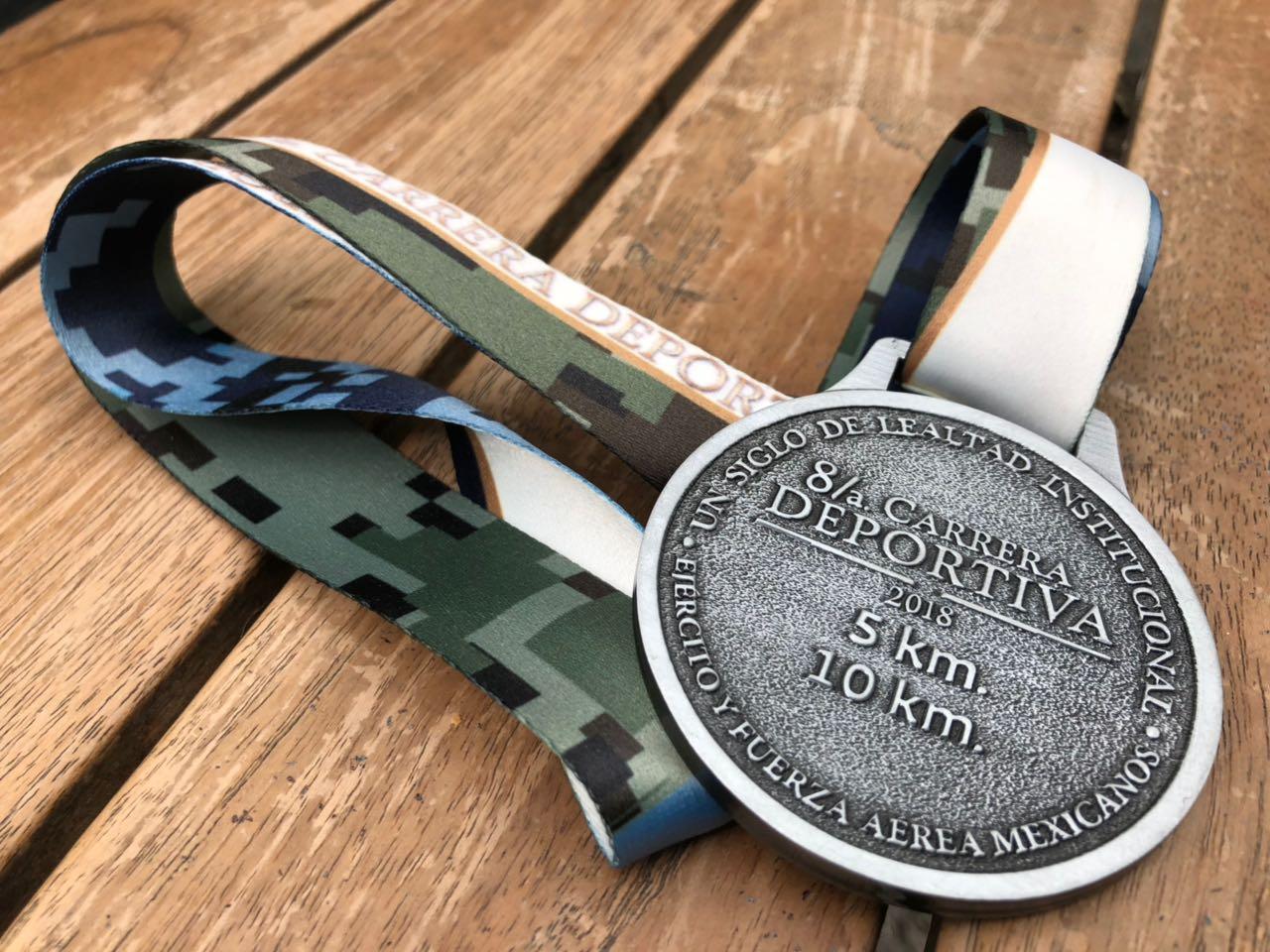 medalla carrera sedena 2018