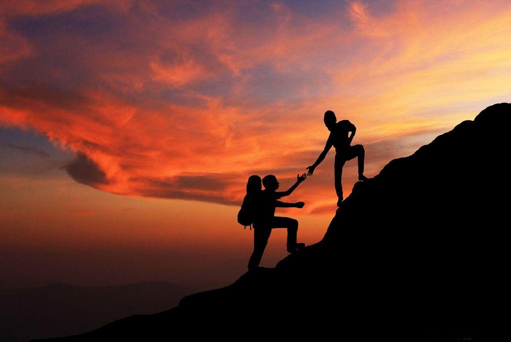 yoga escaladores montañistas