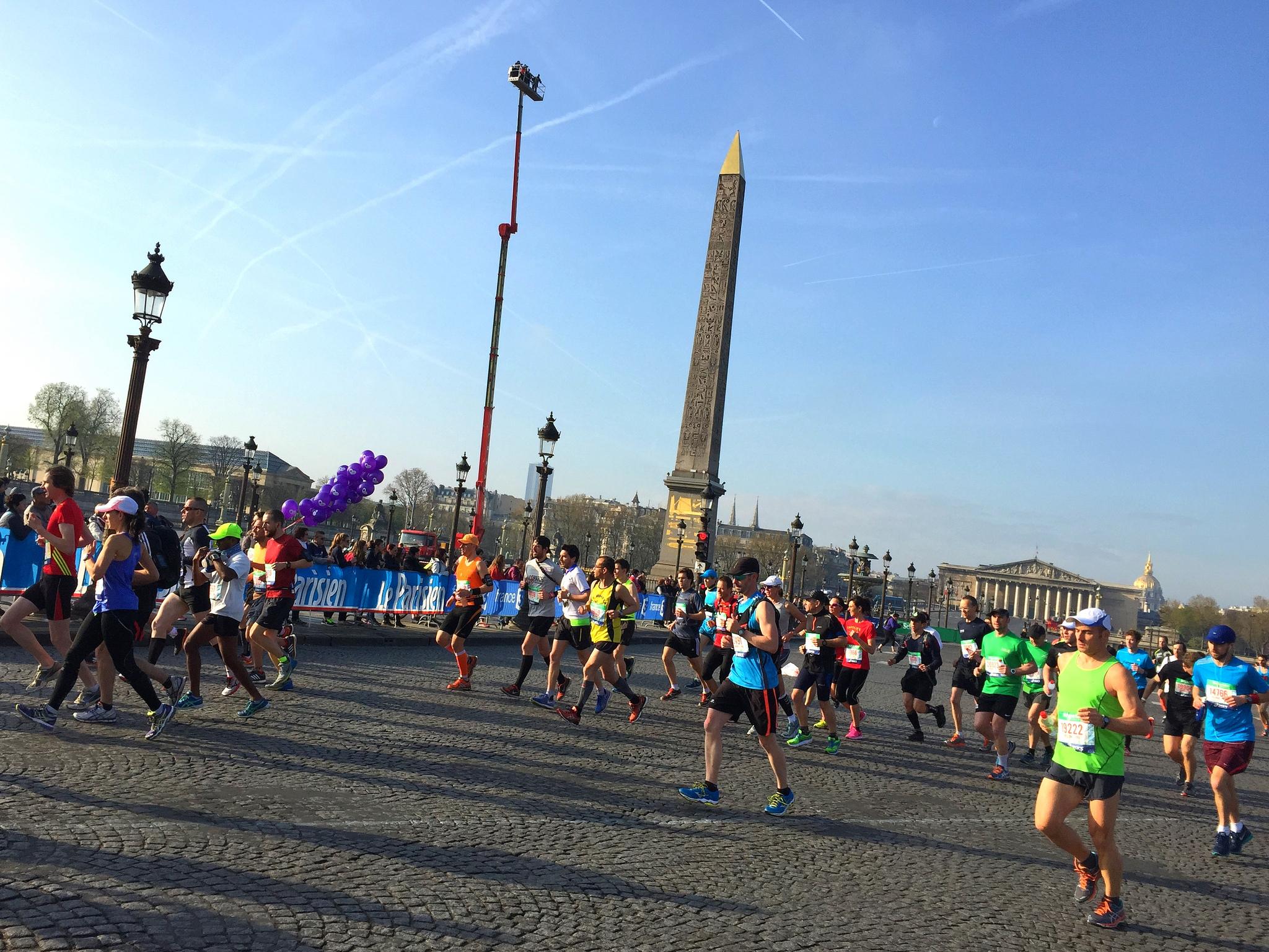 Maratón de Paris foto RunMX