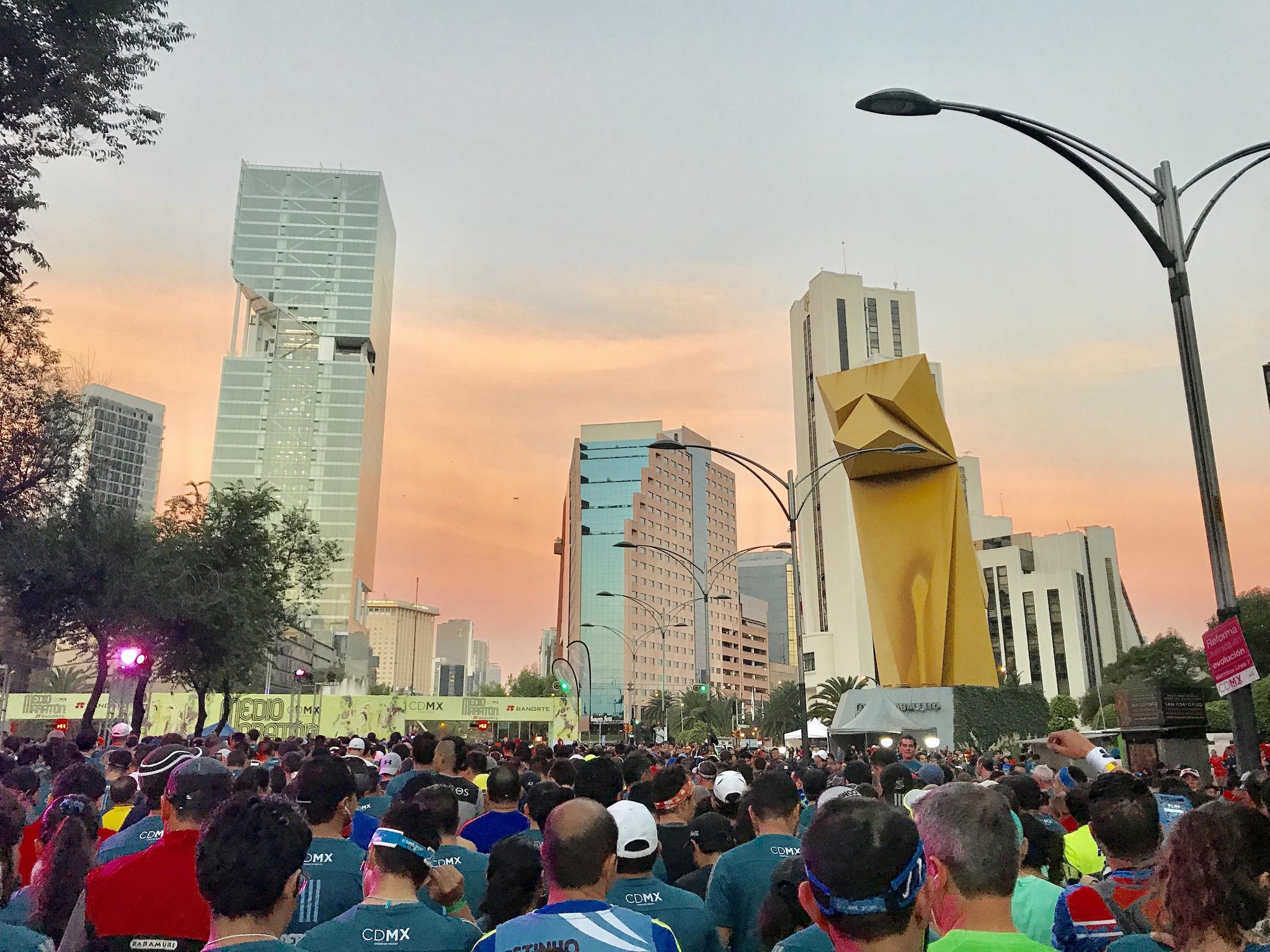 calendario medios maratones 21K runmx 2018