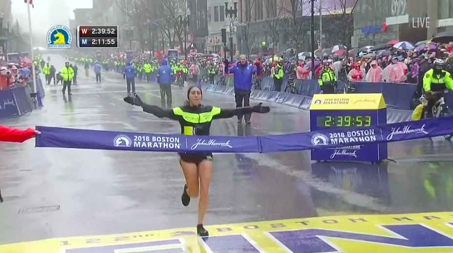 desire linden maraton boston 2018