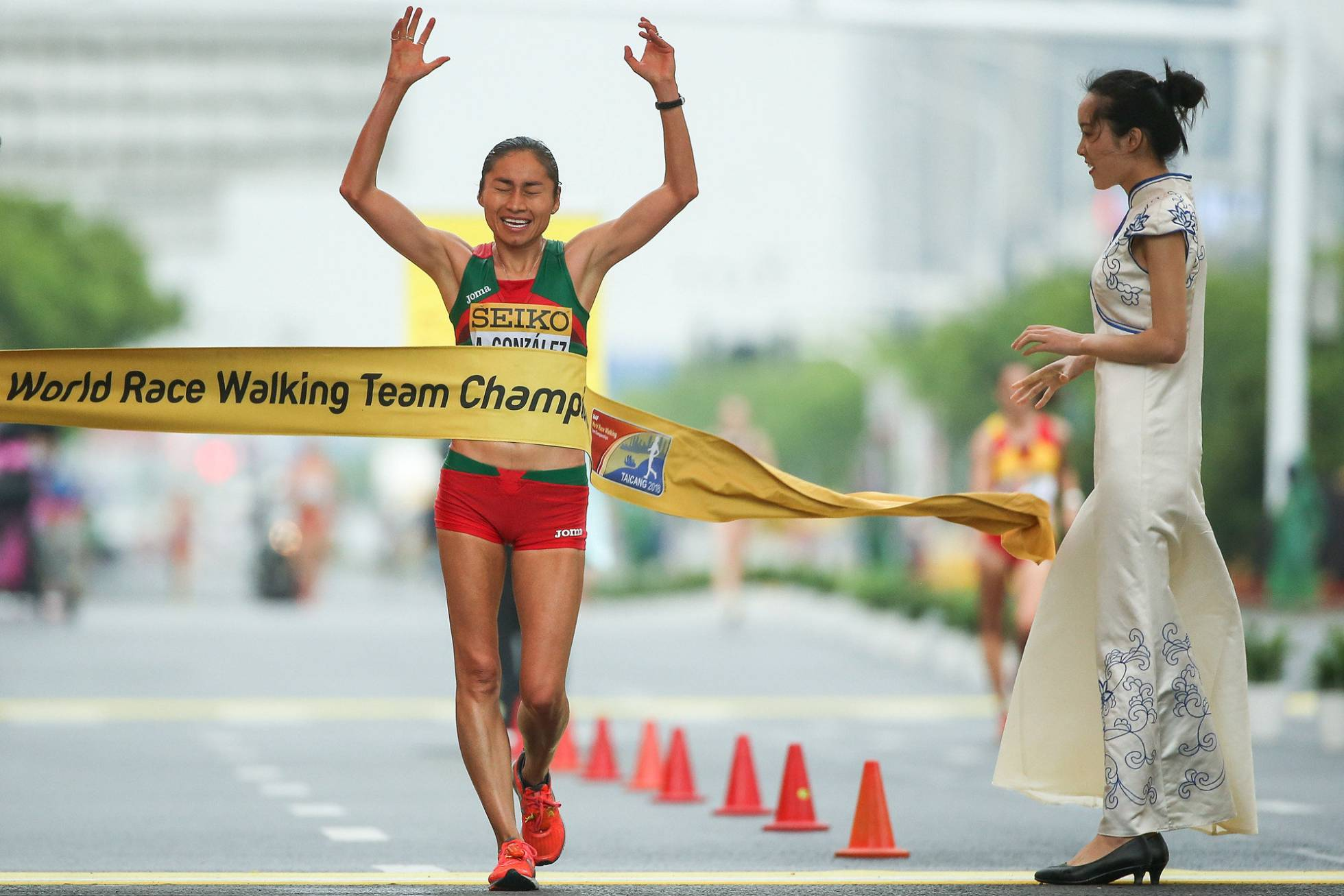 lupita gonzalez oro campeonato mundial marcha