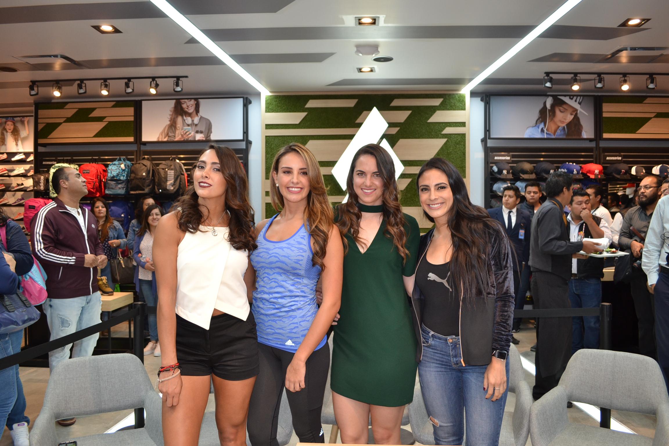 Sportico Puebla Macky Gonzalez Valeria Marin Pau Garcia Robles Rebeca Landa