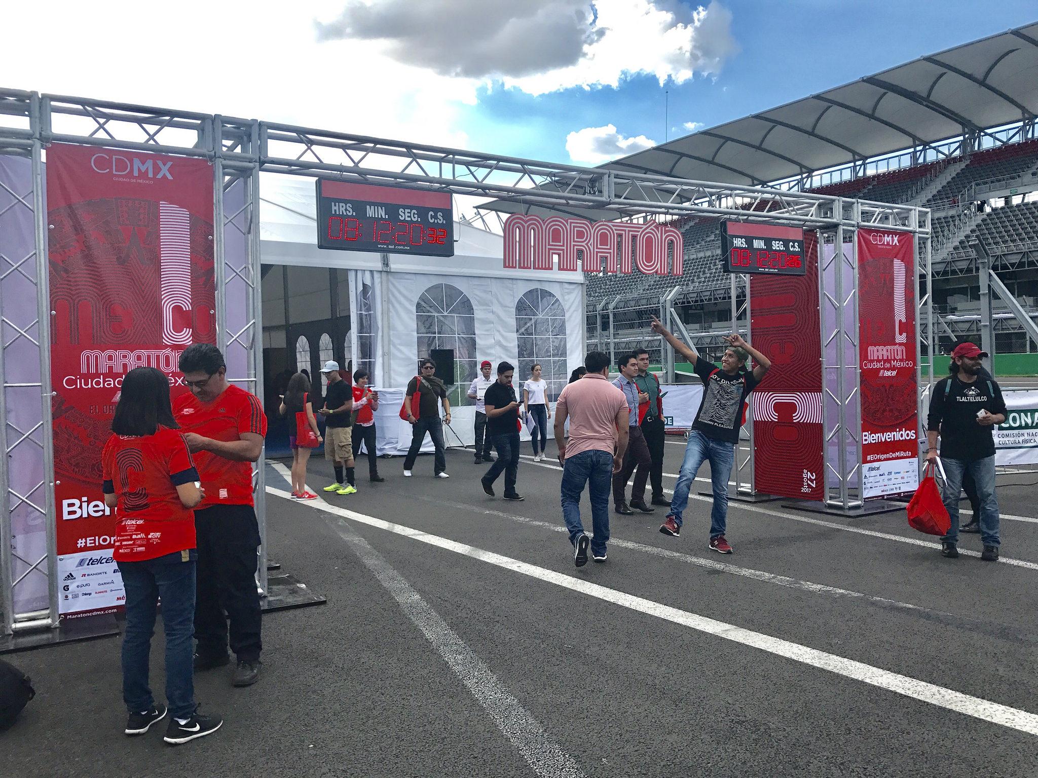 expo maraton de la ciuda de mexico 2018