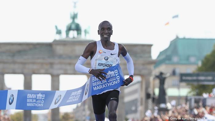 eliud kipchoge record mundial maraton berlin 2018